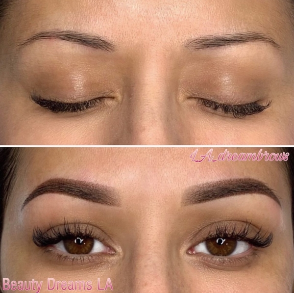 Permanent Powder Eyebrow