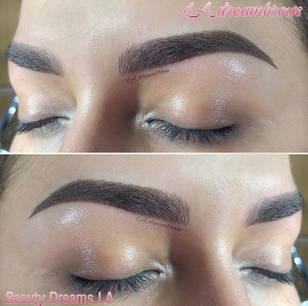 Ombre Brows Healing Process