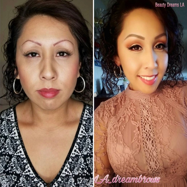 Correcting Microblading Eyebrows