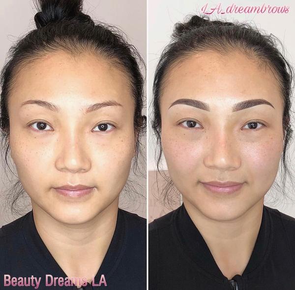 Permanent Cosmetics Eyebrow Correction