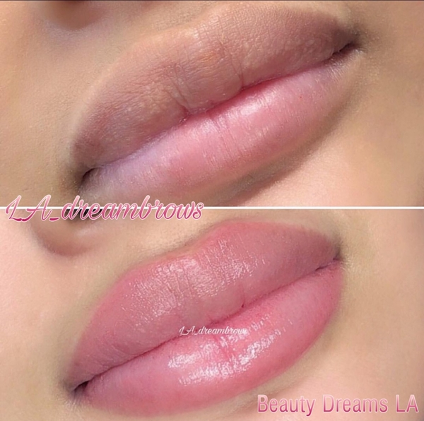 Permanent Lip Blush Makeup