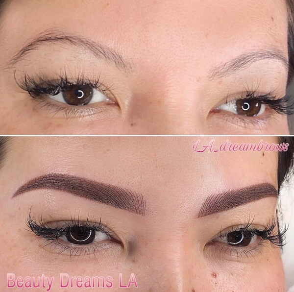 Eyebrow Microshading Los Angeles