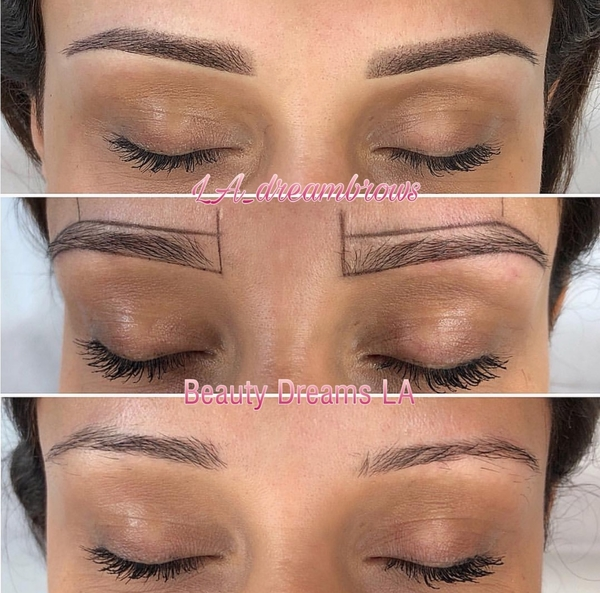 Permanent Eyebrow Shaping