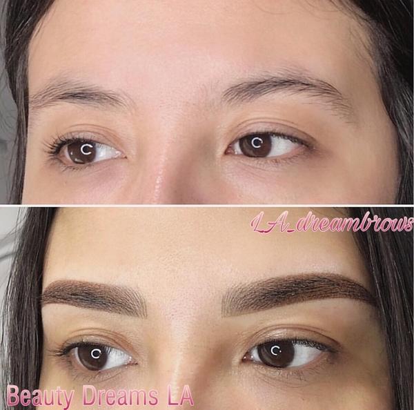 Microblading Eyebrows Los Angeles