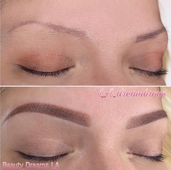 Permanent Eyebrow Treatment